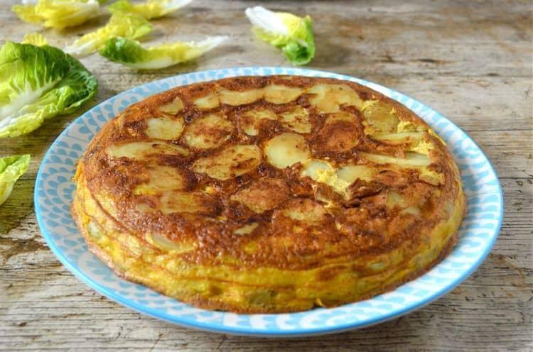 Easy Spanish tortilla