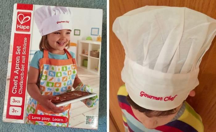 Hape apron set