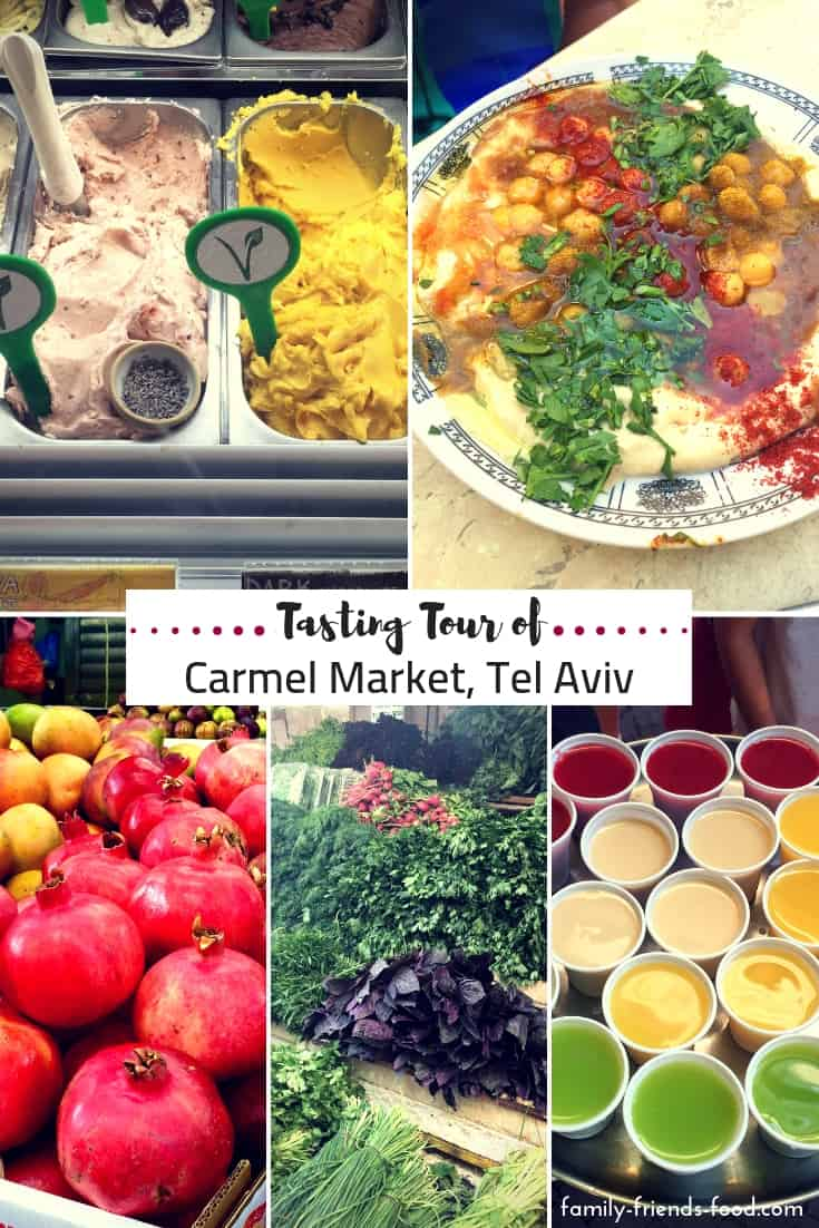 We tasted our way around Tel Aviv's Carmel Market, taking in history, traditional foods, modern flavours, & all the hustle & bustle the 'shuk' has to offer!