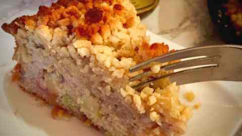Devon apple cake for Rosh Hashanah – inspired by Plymouth Synagogue