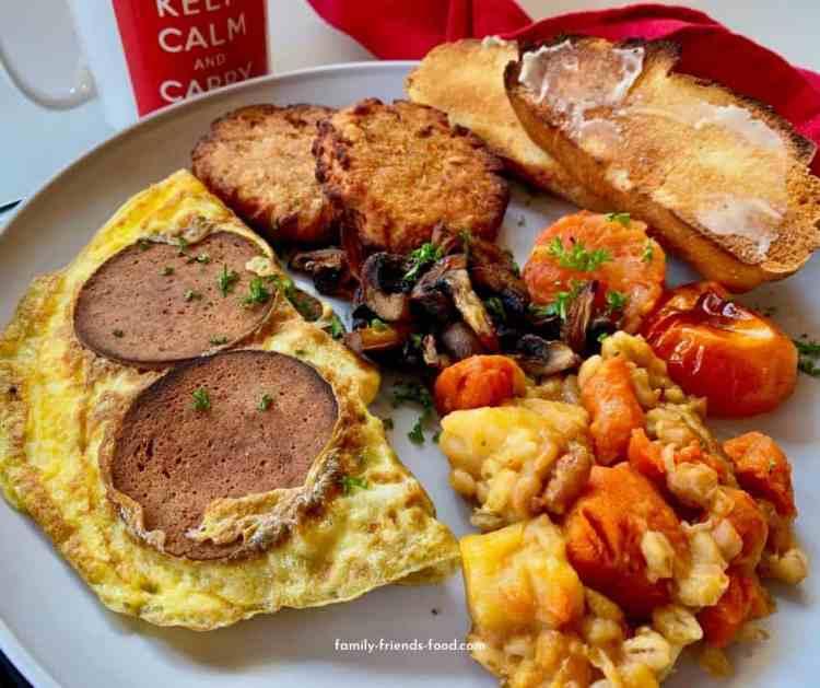 full Jewish breakfast