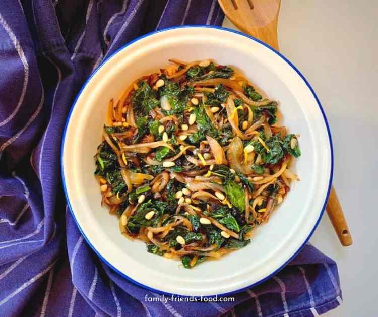 Sicilian-style kale.