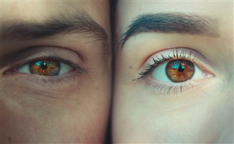 eye contact test divorcing parents