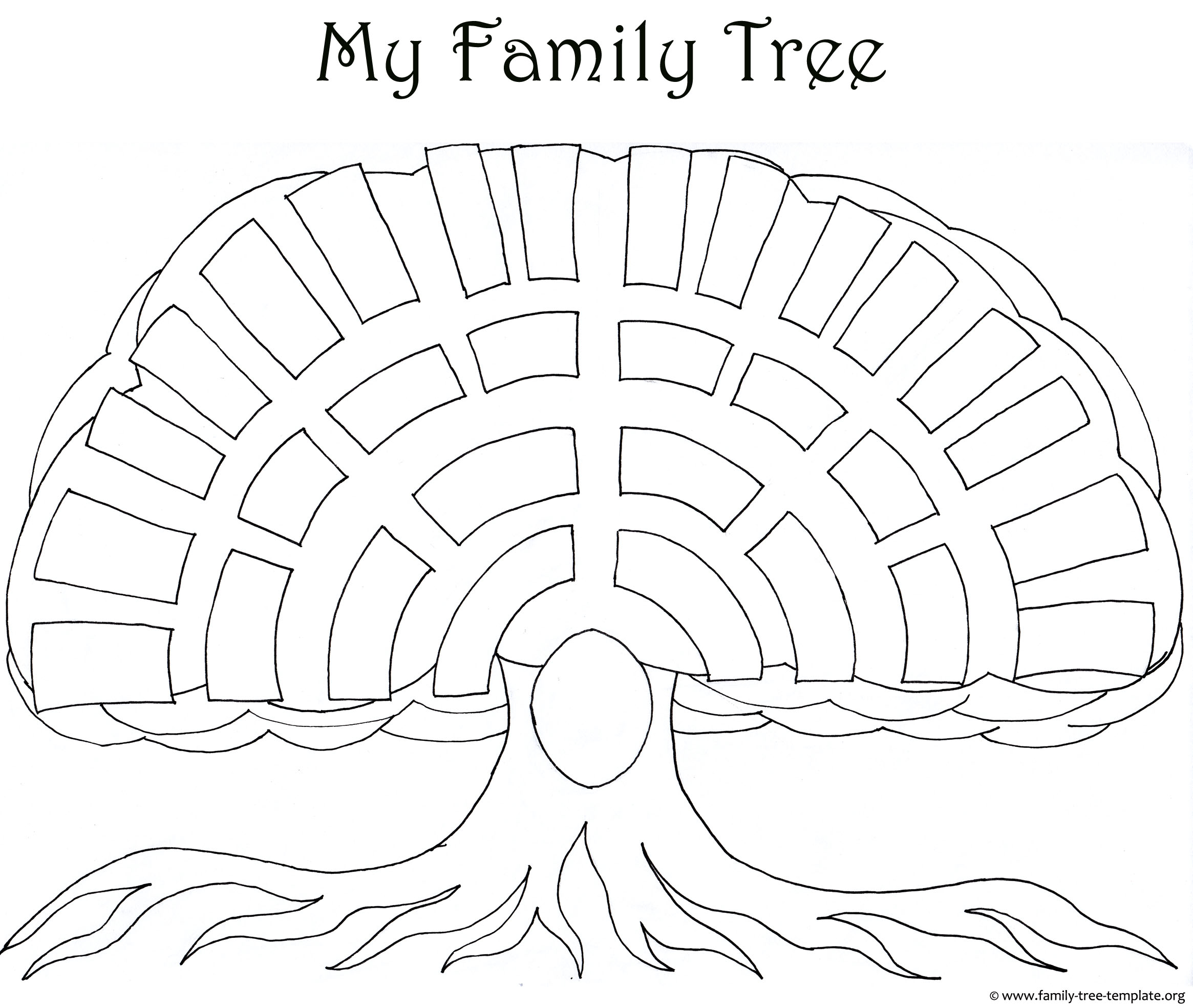 Family Tree Templates Amp Genealogy Clipart For Your