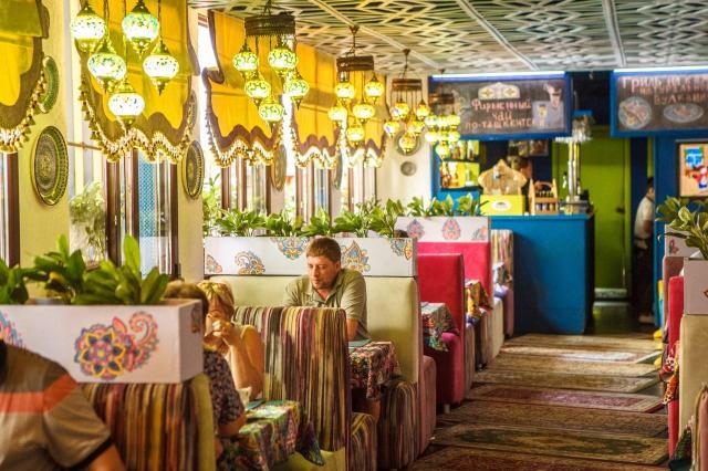 Семейное восточное кафе «Тюбетейка»