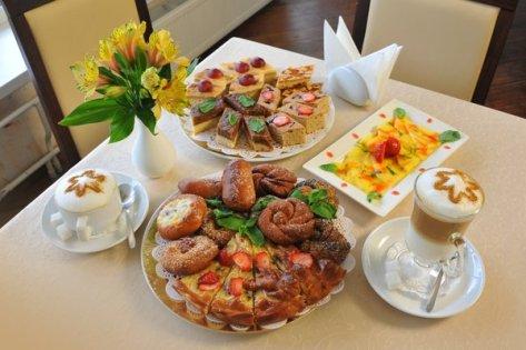 Гелиопарк Талассо, выпечка и кофе