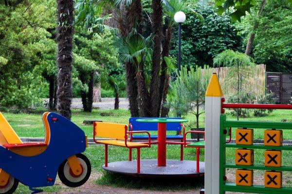 Детский городок в субтропиках