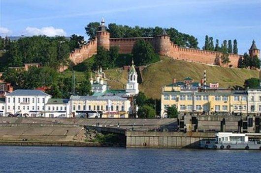 Нижний Новгород с ребенком
