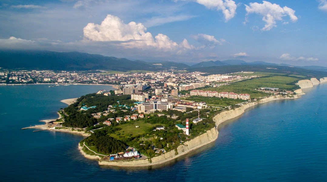 геленджик фото города и пляжа лучшая интернете