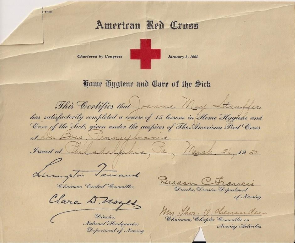 joanna-red-cross-certificate