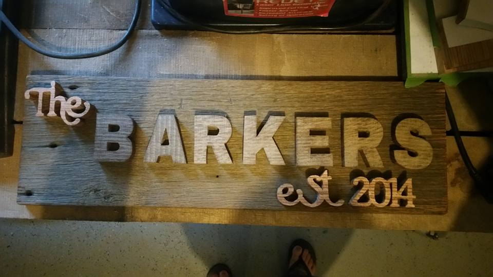 Custom  Barn Wood Family Sign