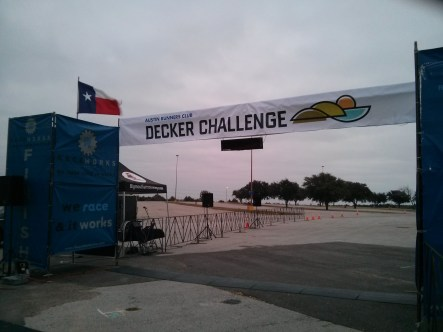 Decker Challenge Start and Finish Line