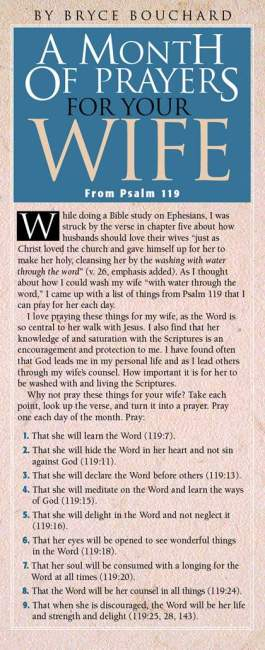 Month of Prayers for Your Wife (NETT)