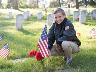 Flags and Flowers Honor Veterans Every Day