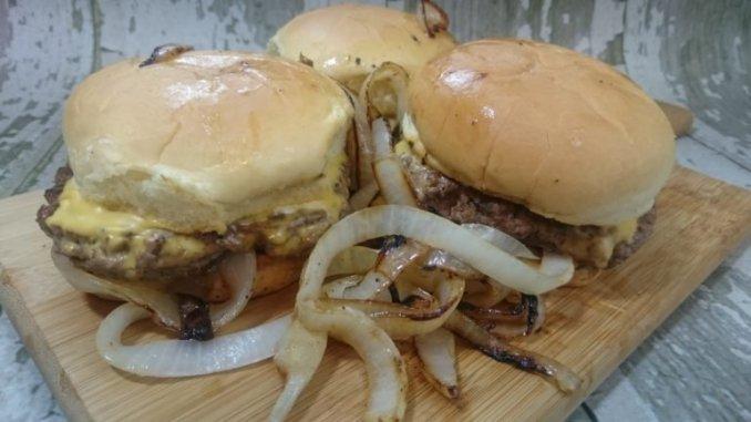Famous Oklahoma Fried Onion Burger Recipe