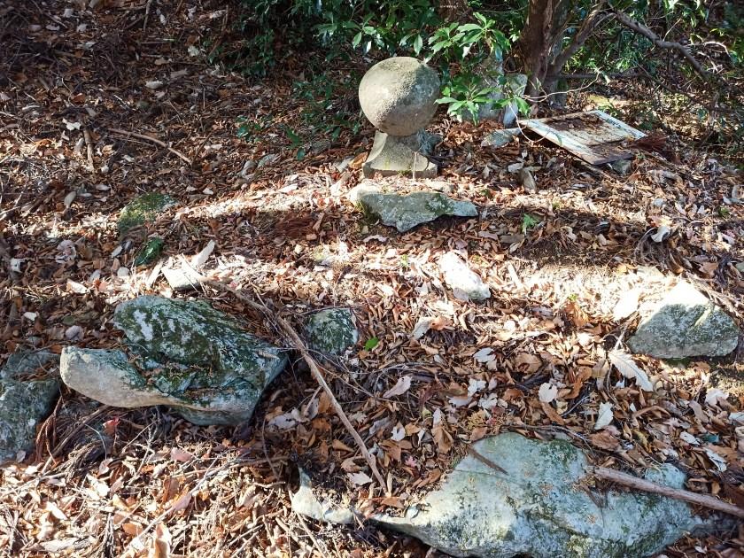 松尾寺遺跡の鐘鋳り塲