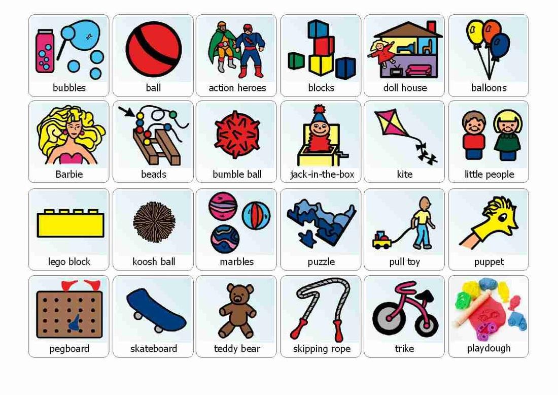Preschool Boardmaker Schedule Icons