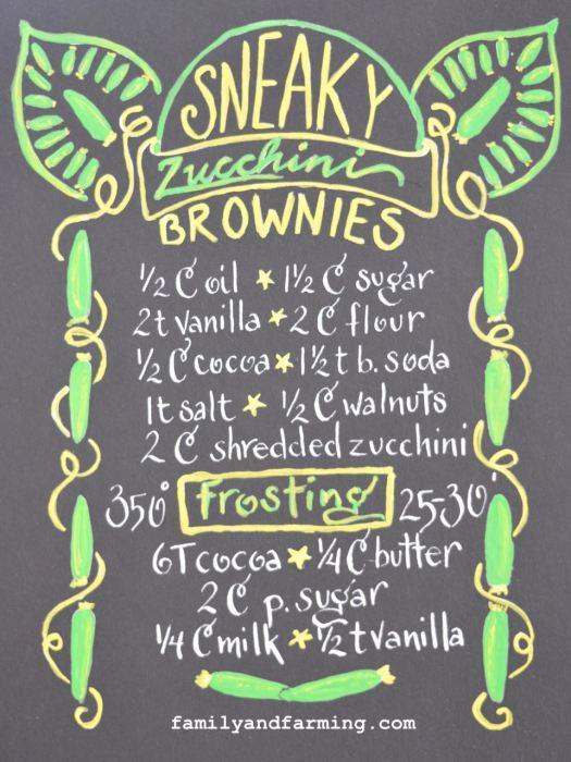 Zucchini Brownie Recipe