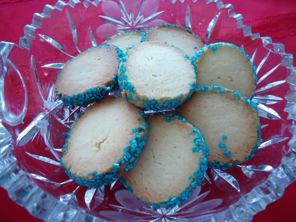 Holiday coins are a delicate butter cookie