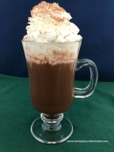 Chocolate shavings is just one way to make hot chocolate special.