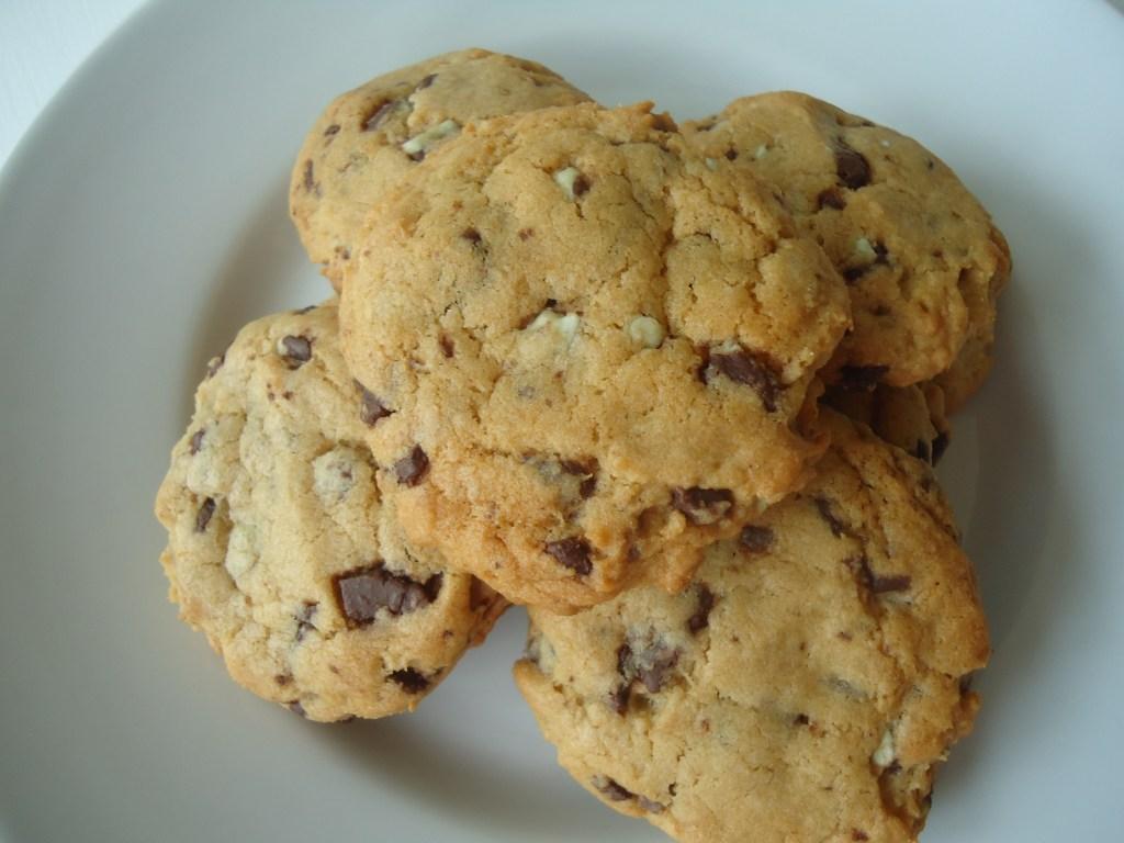 Andes Crème de Menthe Chunk Cookies