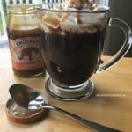 Enjoy an easy caramel coffee.