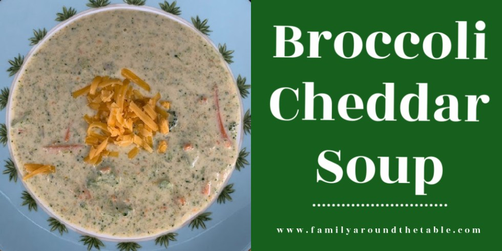 Broccoli Cheddar Soup Twitter image.