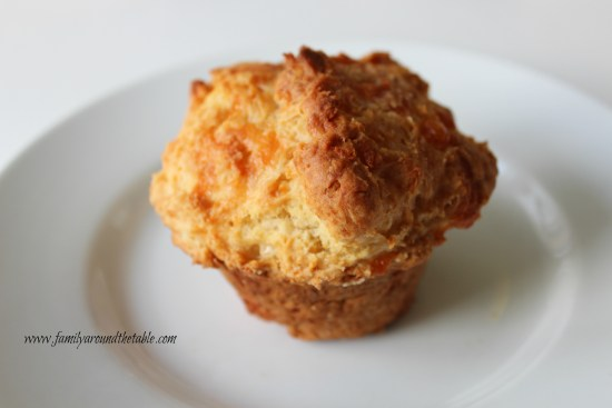 White Cheddar Cheese Muffin Biscuits go great with chili, soup or a main dish salad.