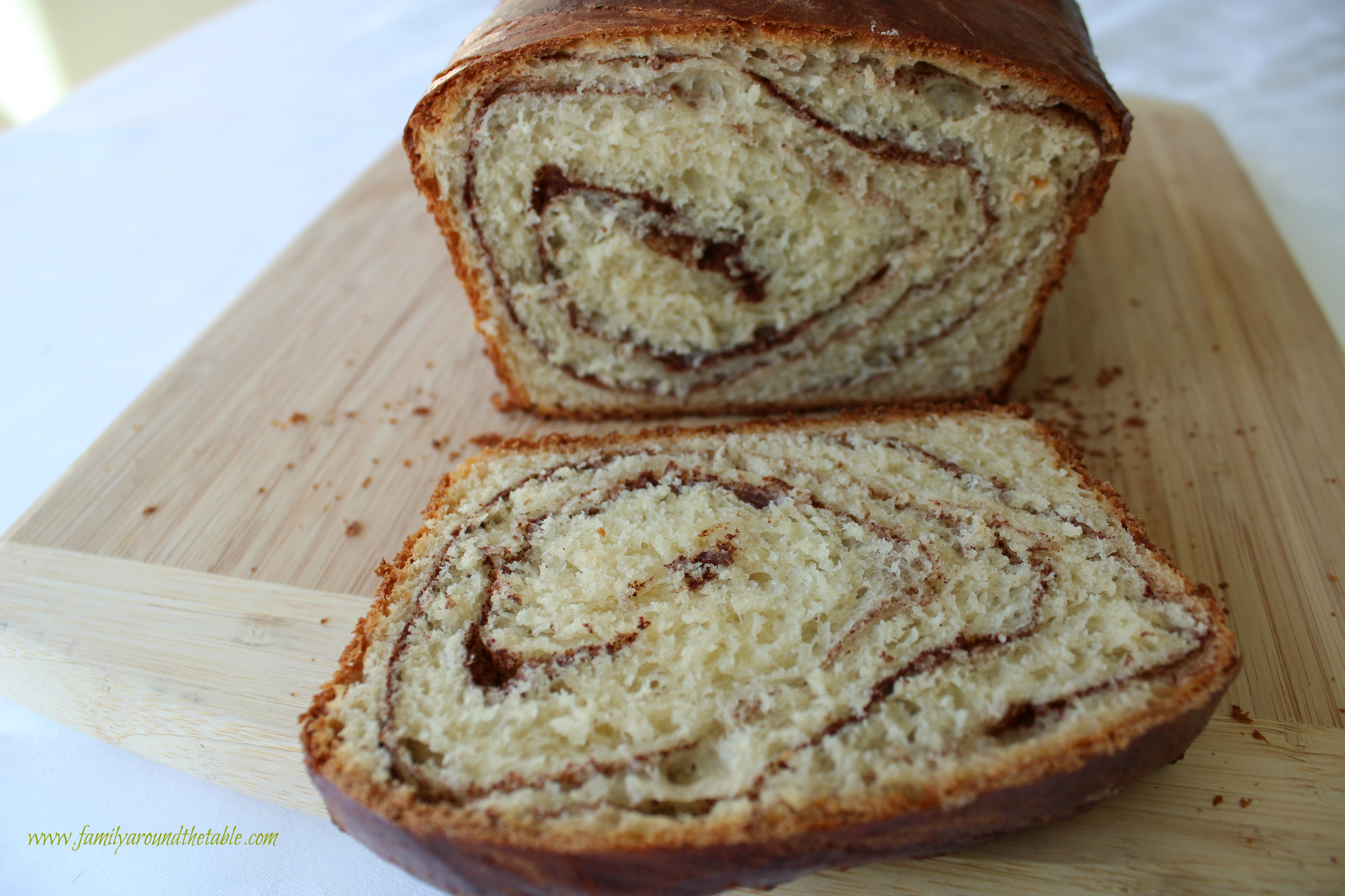 Homemade cinnamon swirl bread is so much better than store bought.