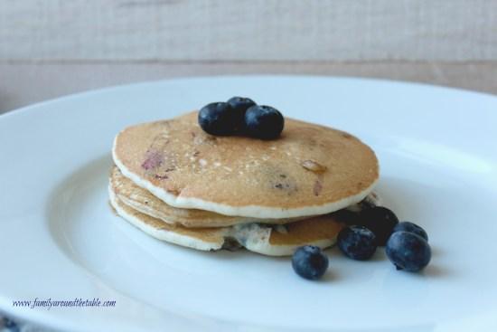 Dad's Favorite Blueberry Pancakes
