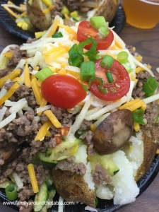 Loaded Cowboy Baked Potato