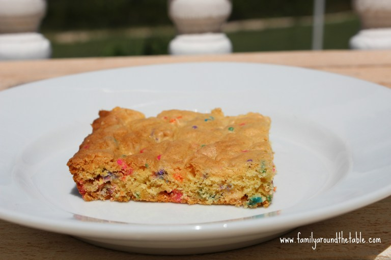Easy Cake Mix Bars