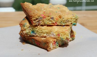 Easy Cake Mix Bars – Perfect for After School