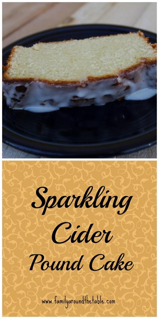 Sparkling Cider Pound Cake