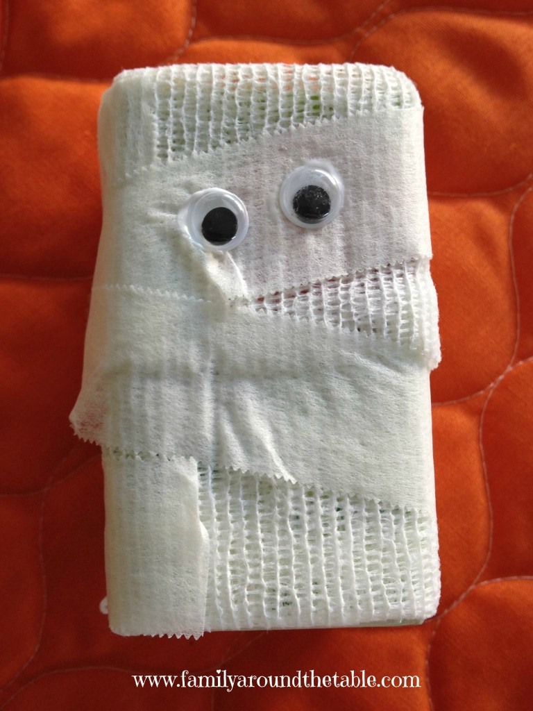 A mummy juice box in your child's lunch is sure to bring a smile to their face!