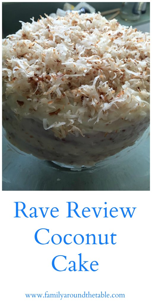 Rave Review Coconut Cake will delight your guests.