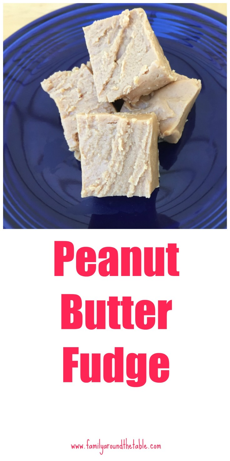 Peanut butter lovers will love this peanut butter fudge.