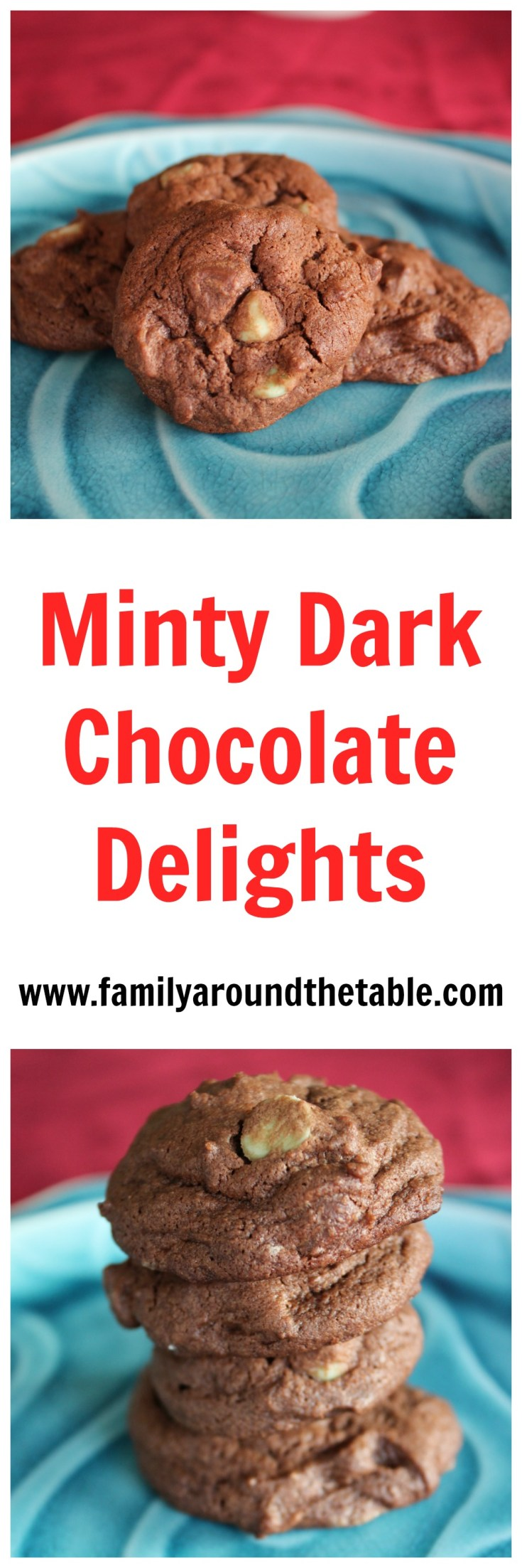 Minty Dark Chocolate Delights will be a hit this holiday season.