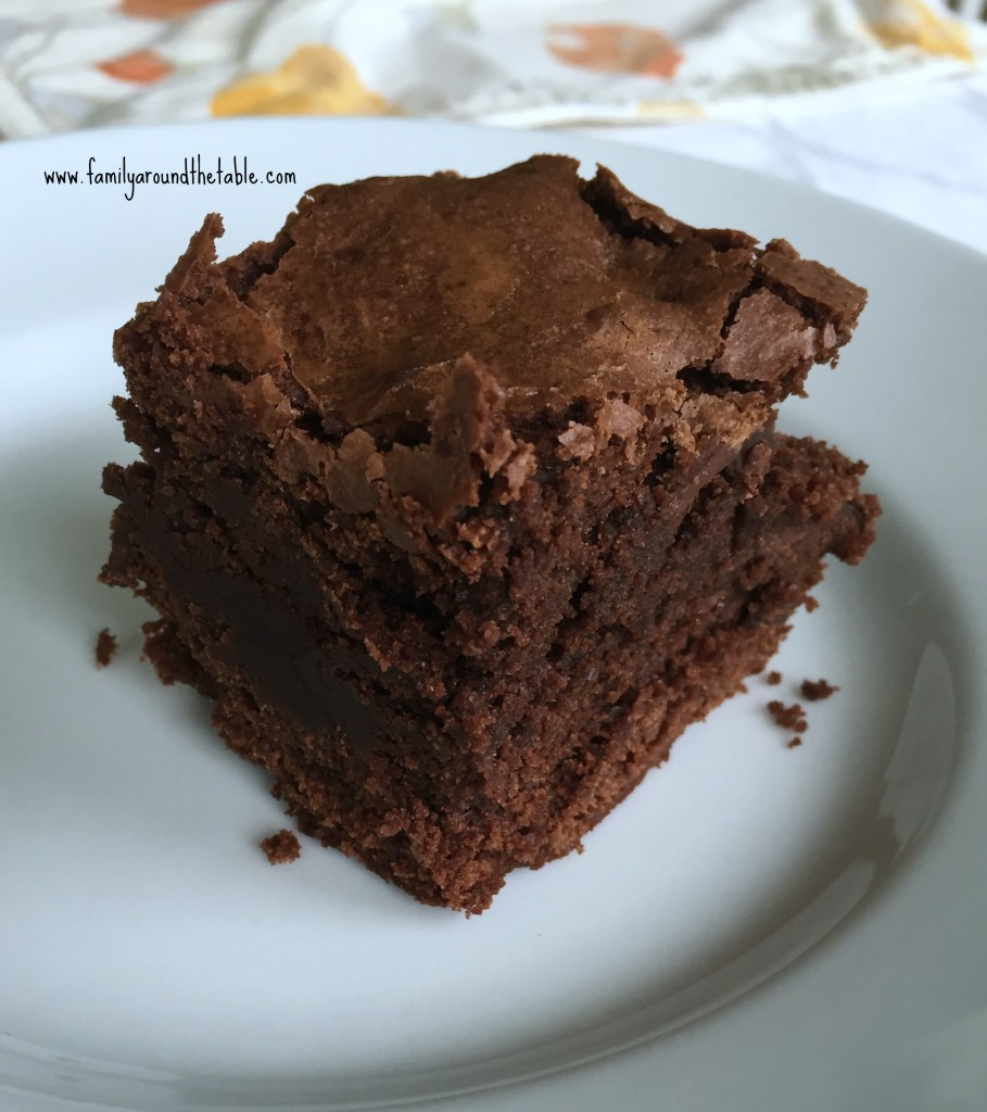 Fudgy Ultimate Brownies are a delicious treat.