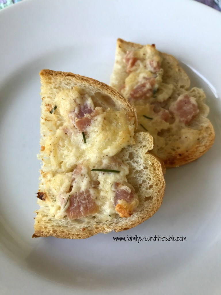 This cordon bleu appetizer is delicious bite for a cocktail party or game day gathering.