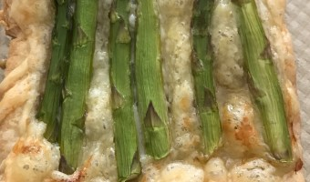Individual Swiss and Asparagus Tarts
