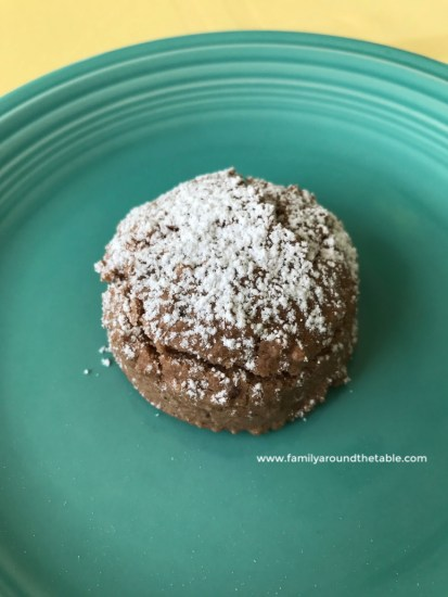 Mexican Hot Chocolate Cookies melt in your mouth.
