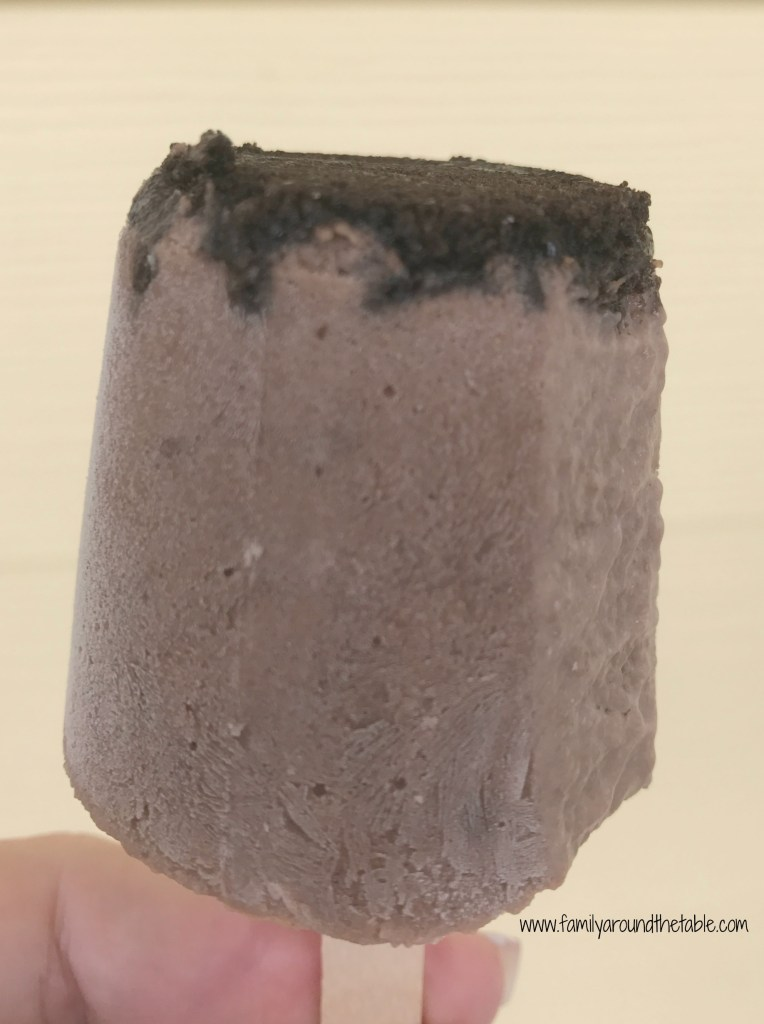 Chocolate Oreo Fudgesicles