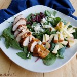 Apple chicken salad from Cooking with Carlee.
