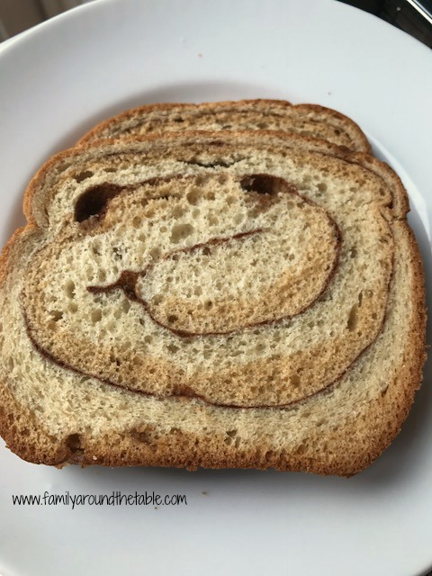 Start your day with a smile with Pepperidge Farm Swirl Oatmeal Bread.