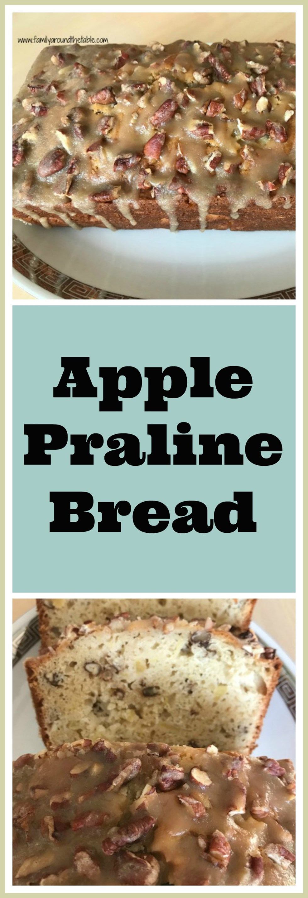 The praline topping makes this bread. #AppleWeek
