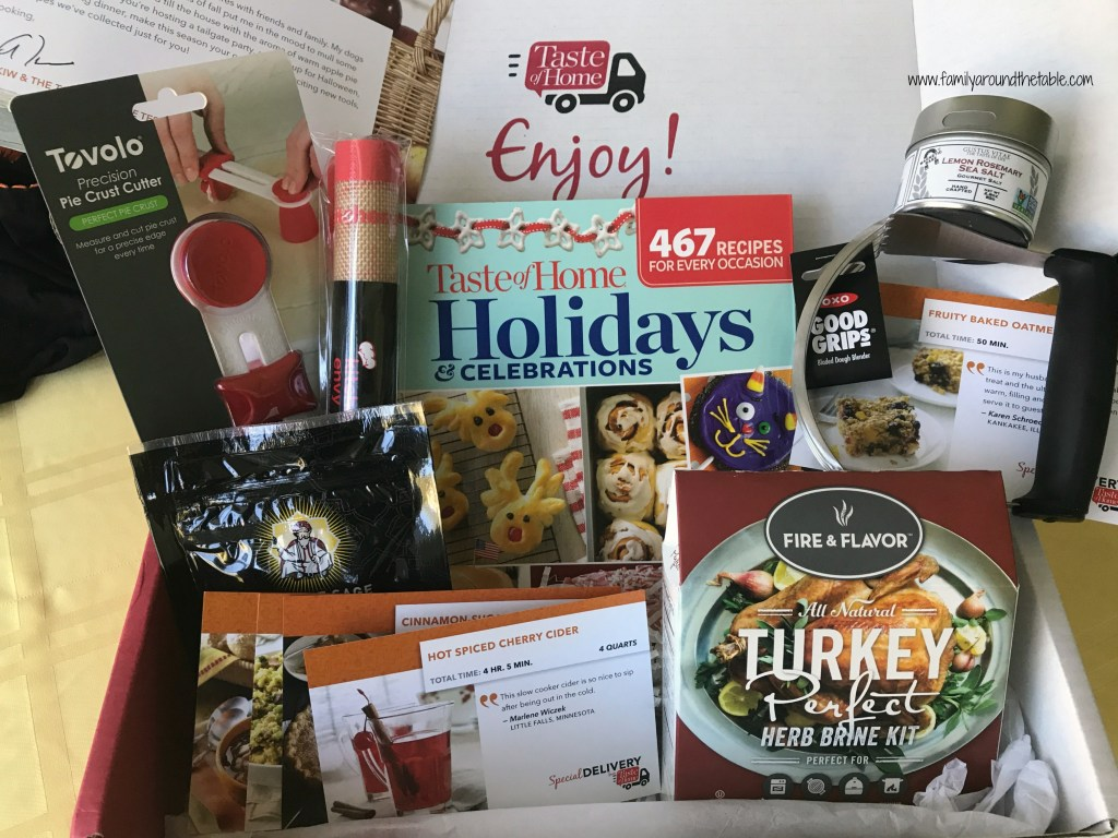 Taste of Home Fall Subscription box