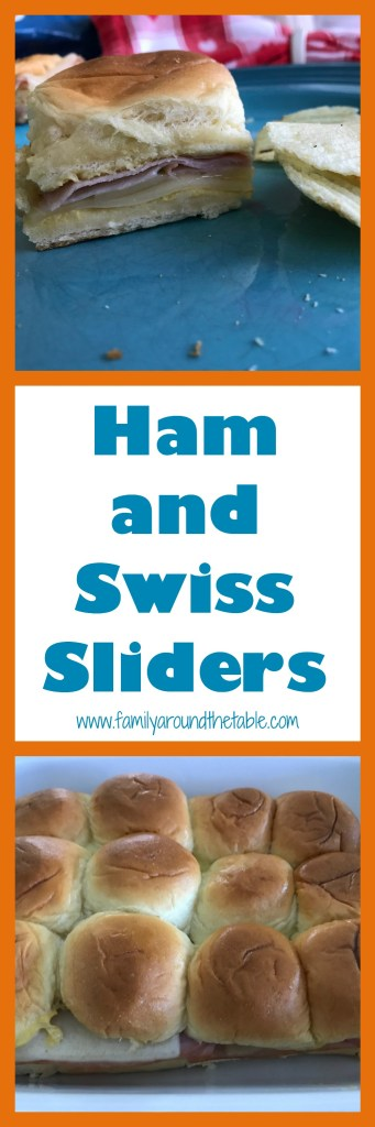 Ham and Swiss Sliders are perfect game day grub!