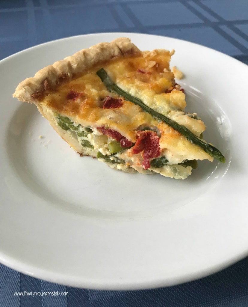 Quiche is such a versatile dish. Easy to make, easy to reheat.
