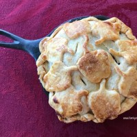 Individual Skillet Apple Pies